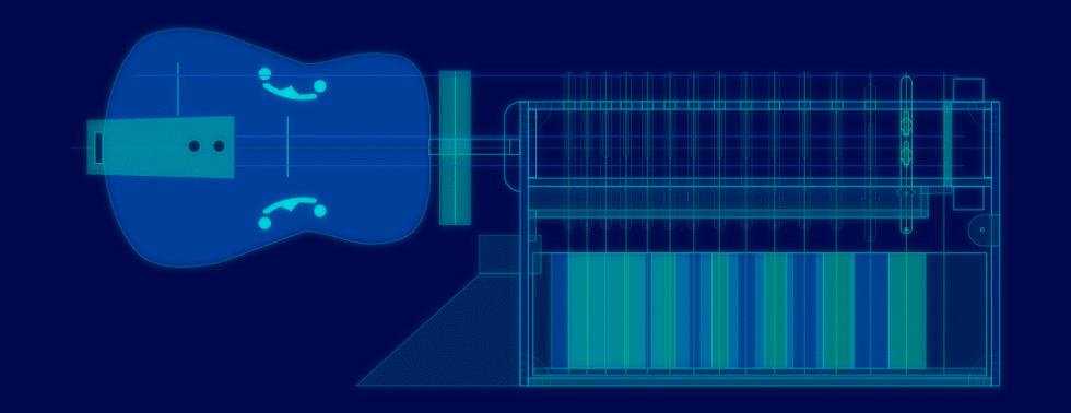Robotic Hurdy-gurdy Blueprint