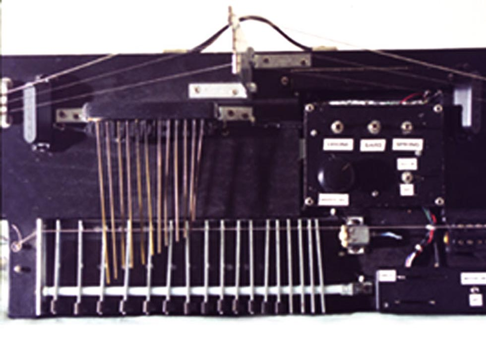 Prepared Guitar String Instrument