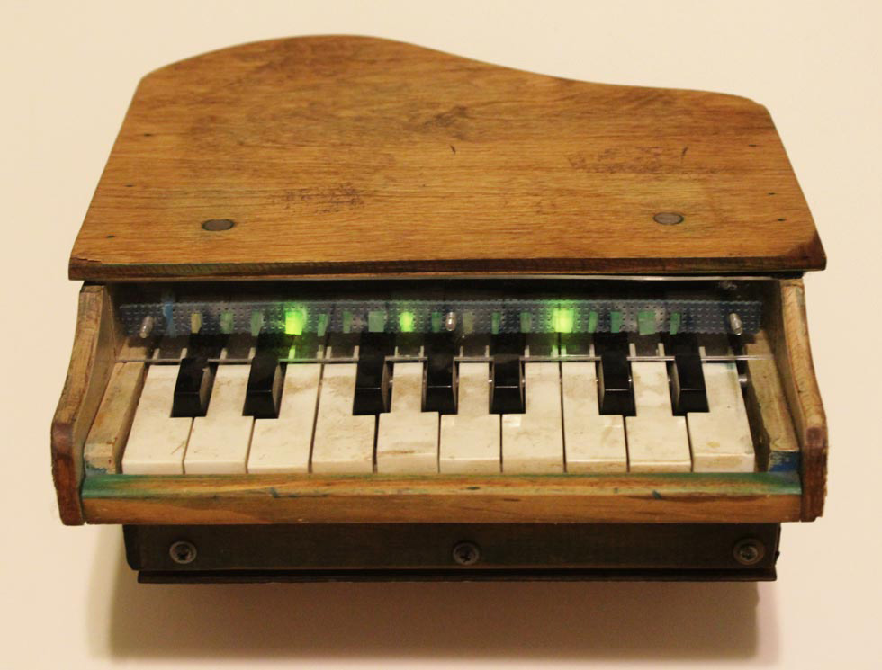 Robotic Toy PIano