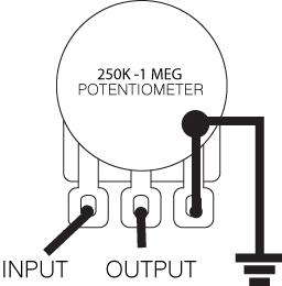 Volume Control Wiring